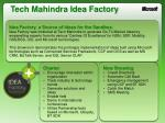 tech mahindra idea factory