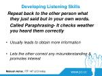 developing listening skills3