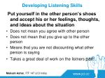 developing listening skills4