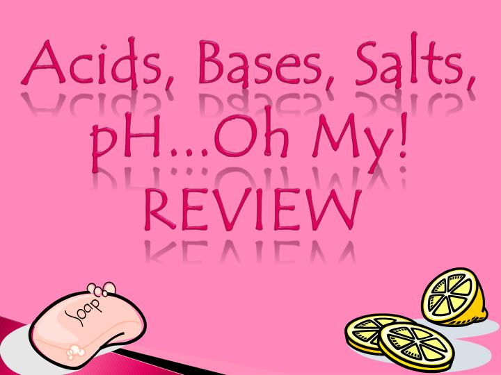 acids bases salts ph oh my review n.