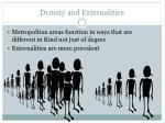 density and externalities