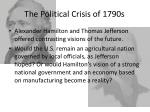 the political crisis of 1790s