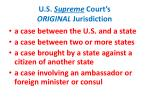 u s supreme court s original jurisdiction