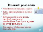 colorado post 2009