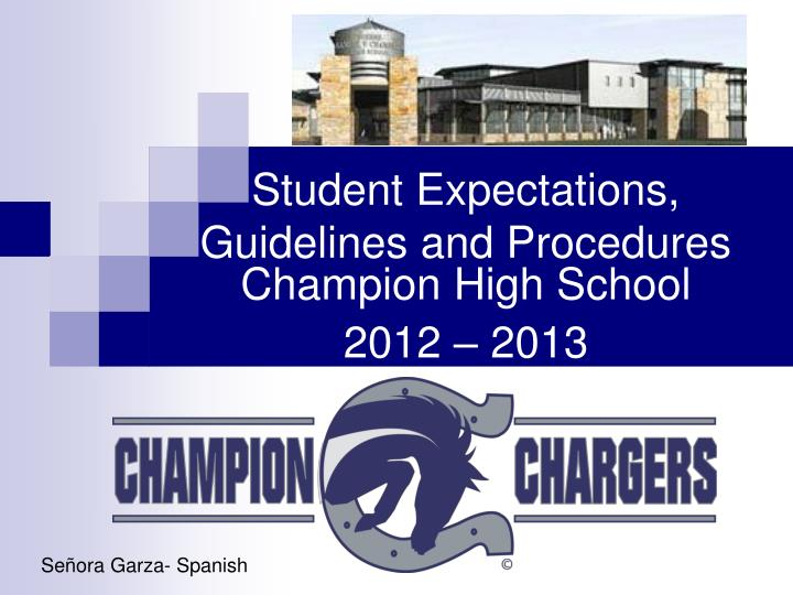 student expectations guidelines and procedures n.