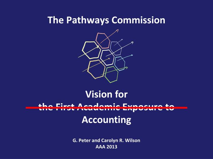 the pathways commission n.