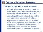 overview of partnership liquidations6