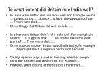 to what extent did britain rule india well1