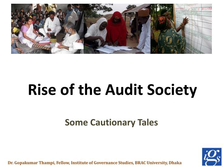 rise of the audit society n.