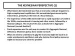 the keynesian perspective 1