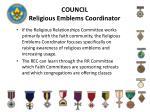 council religious emblems coordinator2