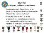 district religious emblems coordinator1