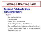 setting reaching goals7