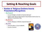 setting reaching goals9