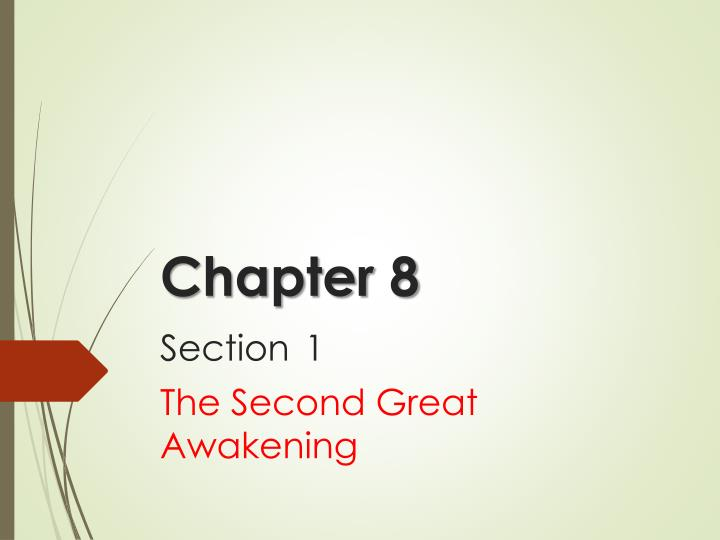 chapter 8 section 1 n.