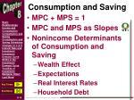 consumption and saving5
