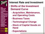 interest rate and investment2