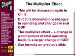 the multiplier effect1