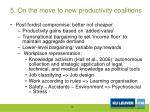 5 on the move to new productivity coalitions1