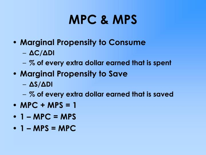 MPC & MPS