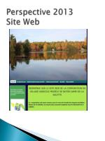 perspective 2013 site web