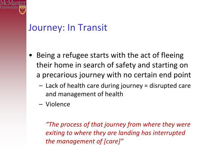 Journey: In Transit