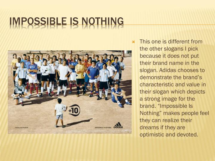 Impossible Is