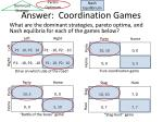 answer coordination games