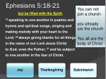 ephesians 5 18 21