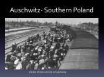 auschwitz southern poland
