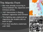 the atlantic front