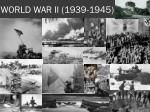 world war ii 1939 1945