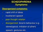schizophrenia symptoms1