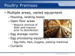 poultry premises