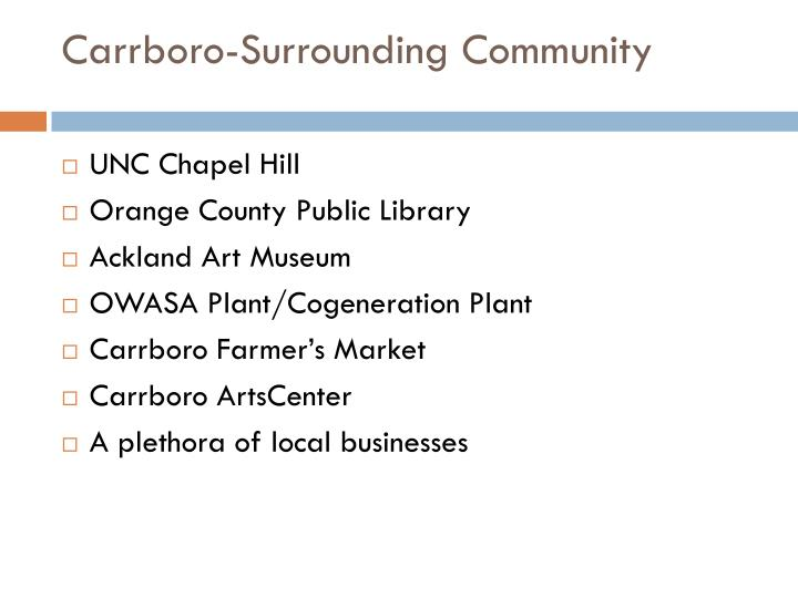 Carrboro-