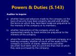 powers duties s 1431