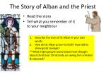 the story of alban and the priest