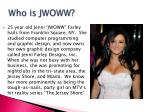 who is jwoww