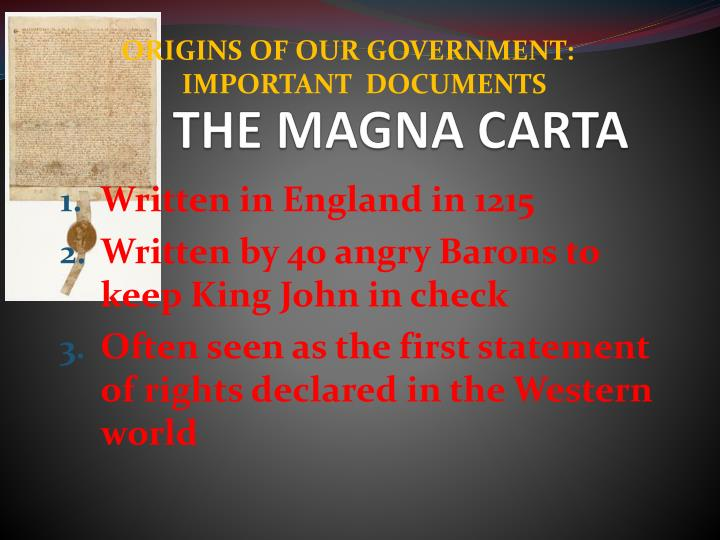 an analysis of the causes and effects of the magna carta A key stage 3 history revision resource for king john and the magna carta topics include: king john and the monarchy, the creation of the magna carta, consequences and interpretations.