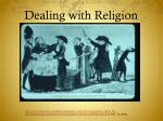 dealing with religion