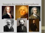 images du monde francophone