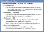 co programovat v c