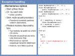 exception handling6