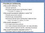 reference a ukazatel1