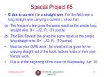 special project 5