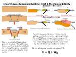 energy source mountain building heat mechanical energy