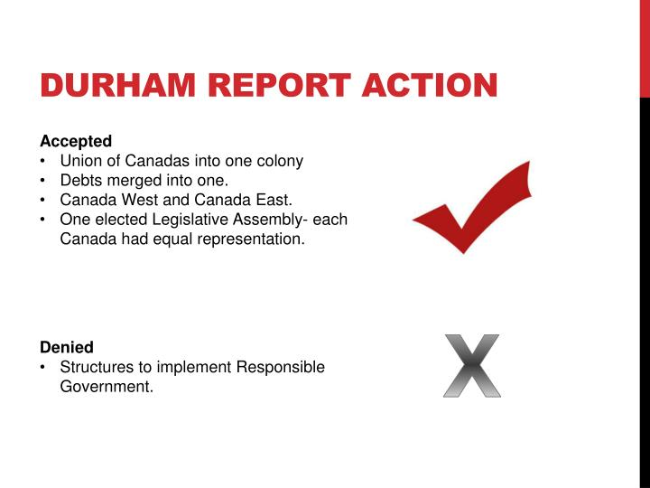 Durham report action