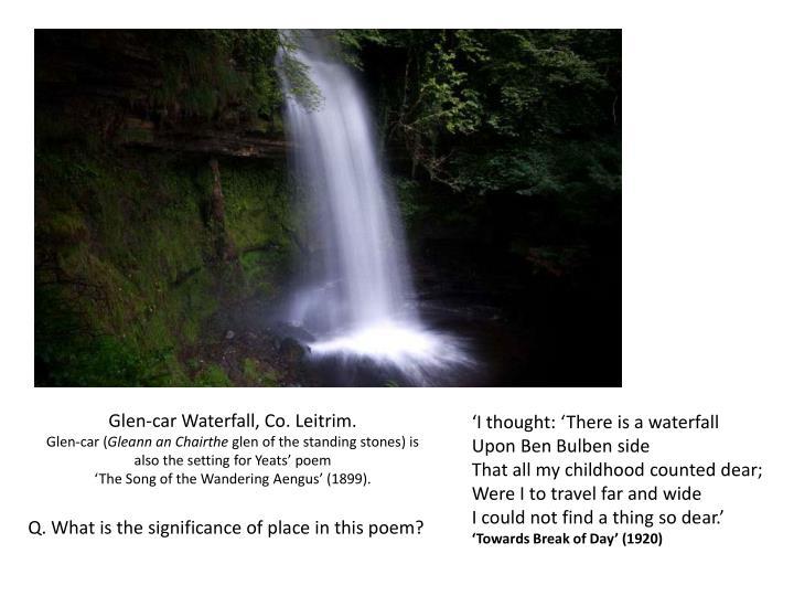 Glen-car Waterfall, Co. Leitrim.