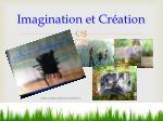 imagination et cr ation