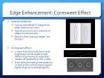 edge enhancement cornsweet effect